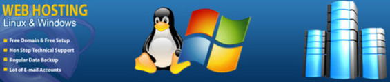 Thumbnail Linux & Windows Hosting with Free Domain Registration
