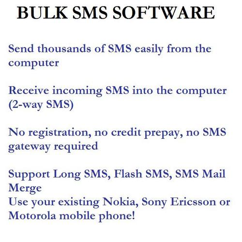 Pay for Bulk SMS Software