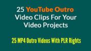 Thumbnail 25 Youtube Outro Clips.zip