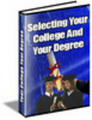 Thumbnail Selecting Your College And Degree