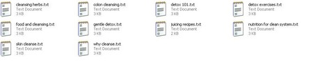 Thumbnail *new* Detox Articles with PLR