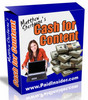 Thumbnail Cash For Content with MRR ($47 value) *new*