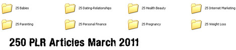 Thumbnail 200 Niche Articles (MARCH 2011) with PLR *must buy*