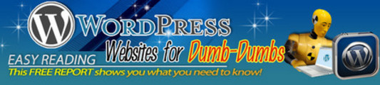 Thumbnail WP Websites For Dumb Dumbs with MRR *must buy*