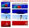 Thumbnail Holiday Clipart Collection with MRR