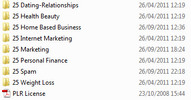 Thumbnail 200 Niche Articles (OCTOBER 2011) with PLR (new)