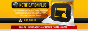 Thumbnail WP Notification Plus with MRR