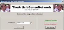 Thumbnail *new* Extreme Live Blog Article Automator Software with MRR