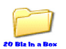 Thumbnail *new* 20 Business In a Box with Master Resale Right