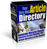 Thumbnail *new* Article Directory Site with MRR