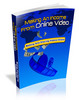 Thumbnail *new* Making An Income From Online Video Report with MRR