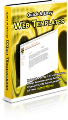 Pay for *must have* Quick & Easy Web Templates with MRR