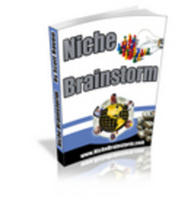 Pay for *new* Niche Brainstorm with Master Resell Rights
