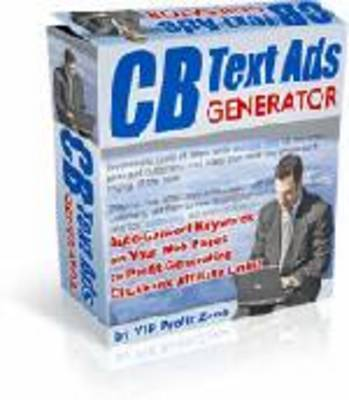 Pay for CB Text Ads Generator with MRR ($137 value) *new*