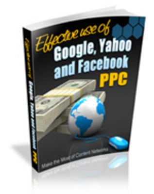 Pay for *must have*Effective Use of Search Engine and PPC with MRR