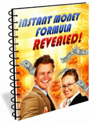 Pay for *new* Instant Money Formula