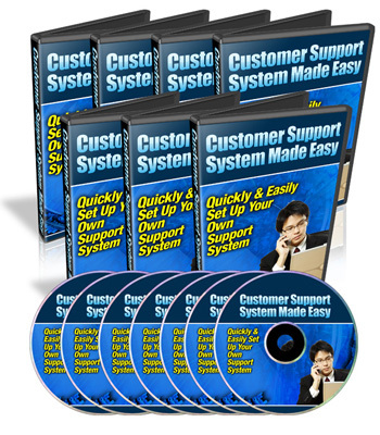 Pay for *new* Customer Support System with PLR