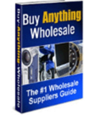 Pay for *new* Buy Anything Wholesale Report with MRR