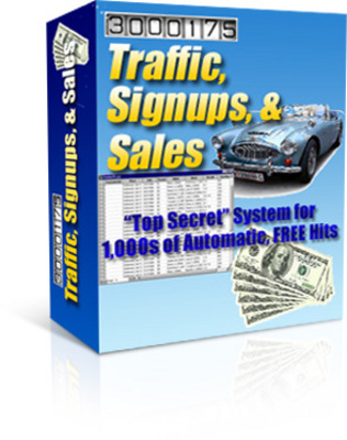 Pay for *new* Traffic Sign-Up Special Report with PLR