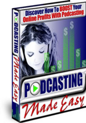 Pay for *new* PodCasting Made Easy with PLR