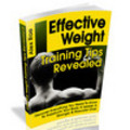 Thumbnail Effective Weight Training Tips Revealed
