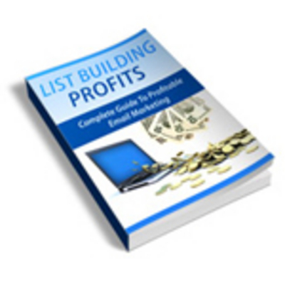 Pay for List Building Profits (With Master Resell Rights)
