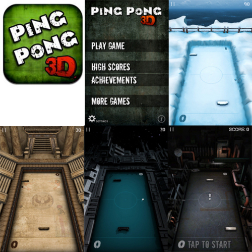 Pay for Ping Pong 3D 1.0.0 iPhone and iPod Touch
