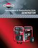 Thumbnail Briggs Generator Repair Manual #86262GS PDF- for only $7!...