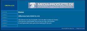 Thumbnail rhCMS Pro v2.0 PHP-Script Content Management System