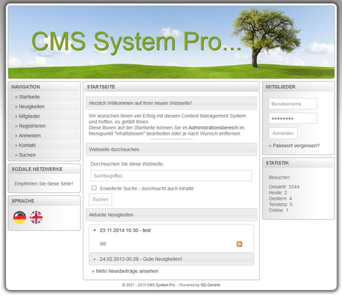 Pay for CMS System Professional