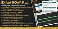 Thumbnail online exam php script,online exam board php script