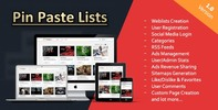 Thumbnail Pin Paste Lists