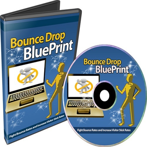 Pay for Bounce Drop Blueprint - Fight bounce rate & increase visitor