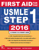 Thumbnail First Aid for the Usmle Step 1 2016