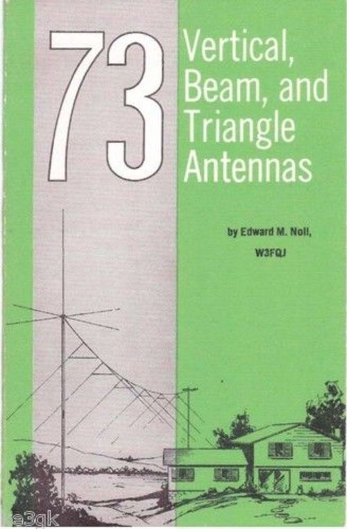 Pay for 73 Vertical Beam Triangle Antennas Ham Radio Book