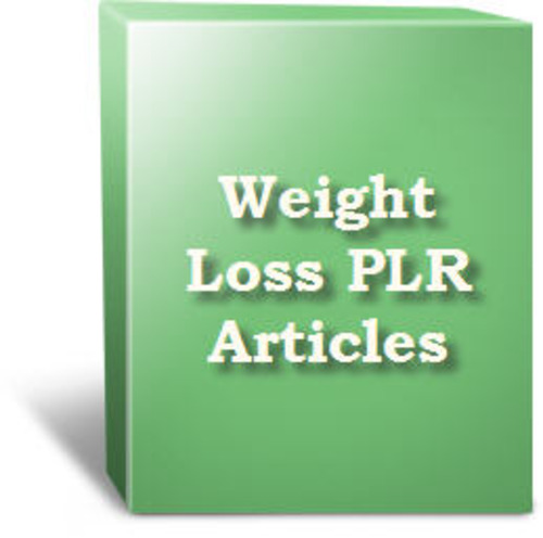Pay for 518 Articles on Weight Loss  with FULL PLR + MYSTERY BONUS!