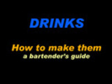Thumbnail Barback (DRINKS - How to make them)