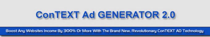 Thumbnail ConTEXT Ad Generator 2.0