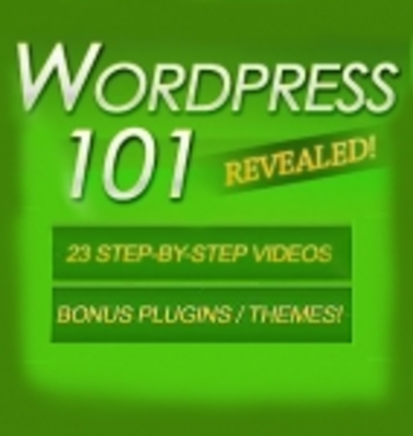 Pay for Wordpress 101 - 23 Videos PLR