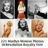 Thumbnail Marilyn Monroe 221 High Resolution Royalty Free Photos