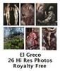 Thumbnail El Greco 26 High Resolution Royalty Free Paintings