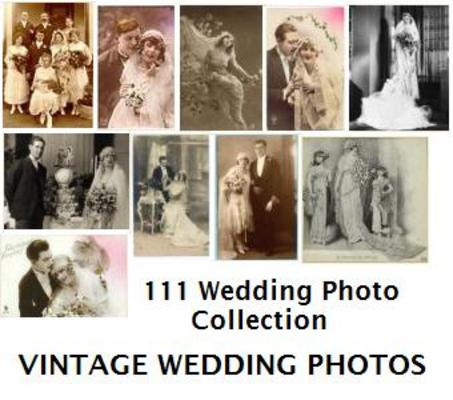 Pay for 111 Quality Vintage Wedding Photos Collection