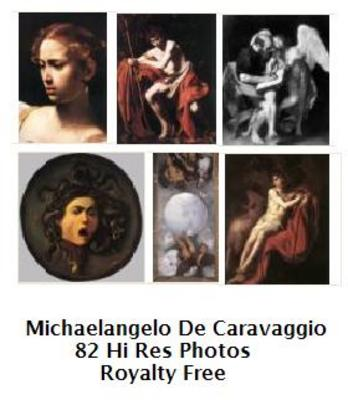 Pay for Michaelangelo De Caravaggio 82 High Resolution Royalty Free