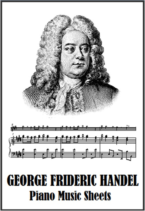 George Frideric Handel Sheet Music Collection