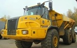 Thumbnail John Deere 350D, 400D Articulated Dump Truck (SN:608490-626762) Service Repair Technical Manual (TM1317)
