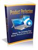 Thumbnail La perfección del producto - Ebook + Mini-sitio + MRR