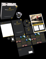 Pay for Running Way Print Design Template