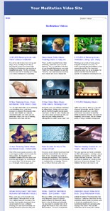Pay for Meditation Video Site Builder
