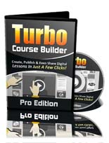Pay for Turbo Course Builder Pro Software