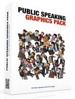 Pay for Public Speaking Graphics Pack